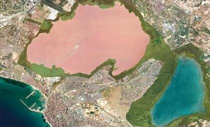 Цветные озёра Торревьехи