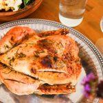 Цыпленок «La Ferme» запеченный по-английски