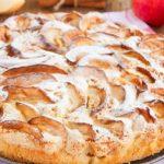 Воздушный яблочный пирог