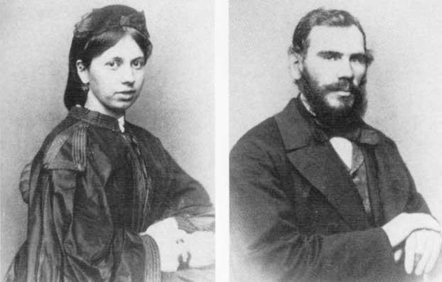 Лев Николаевич и Софья Андреевна